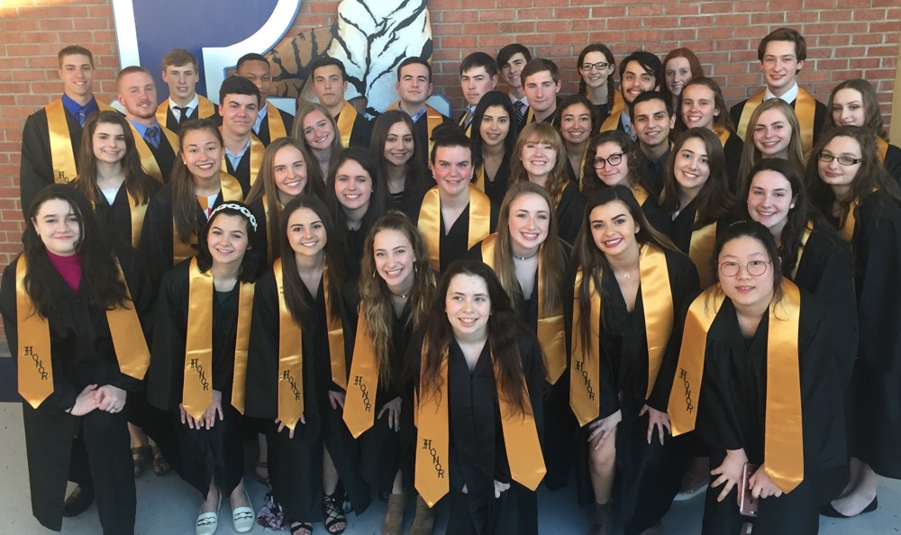 Congratulations to the new members of the National Honor Society!