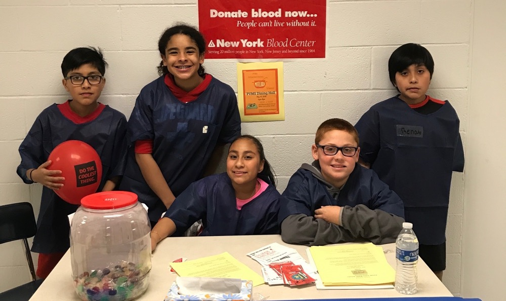 PVMS Annual Blood Drive continues to be a success!