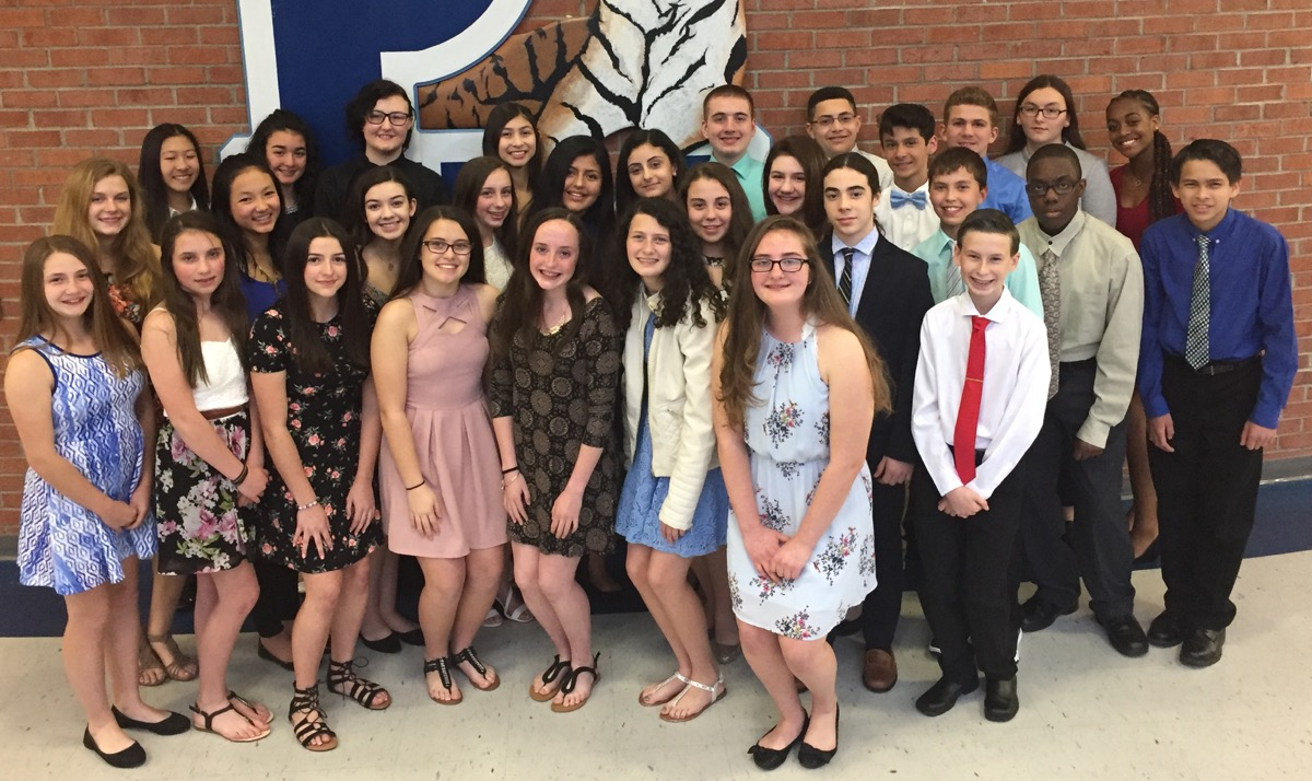 Congratulations to our PVMS 2018 National Junior Honor Society Inductees!
