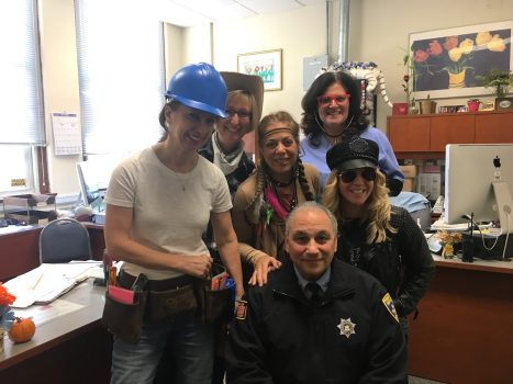 Halloween at the PVES Main Office