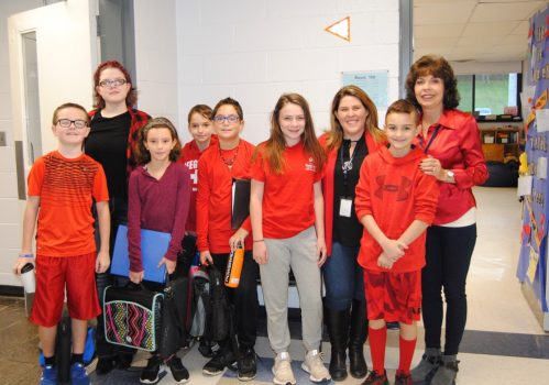 PVMS students participate in Red Ribbon Week.
