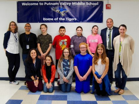 September 2018 Student of the Month Honorees