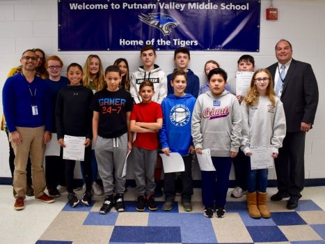 Congratulations to our October Student of the Month recipients.