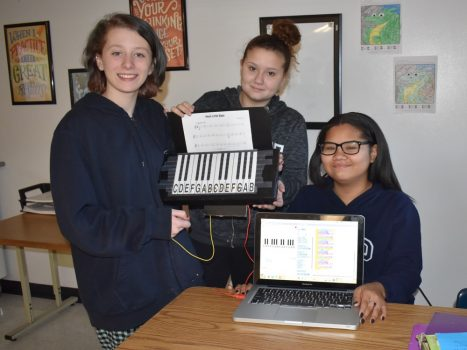 Can you name that tune in 5 notes? Students share their Makie Makie Music in Technology!