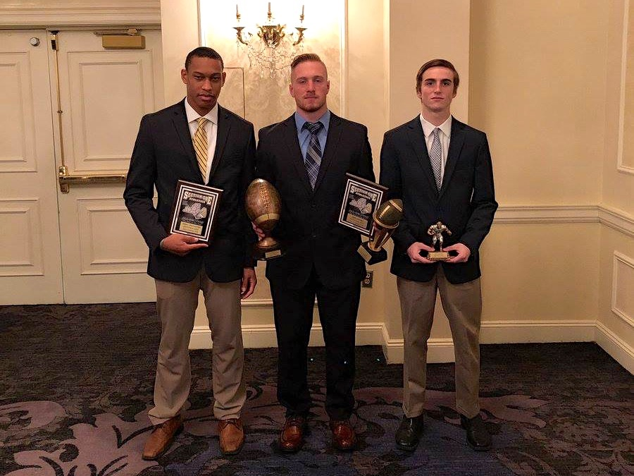 Congratulations, Darnell Shillingford, John Listwan and Jeremy Avilas for their All- Section Awards in football! Way to go!