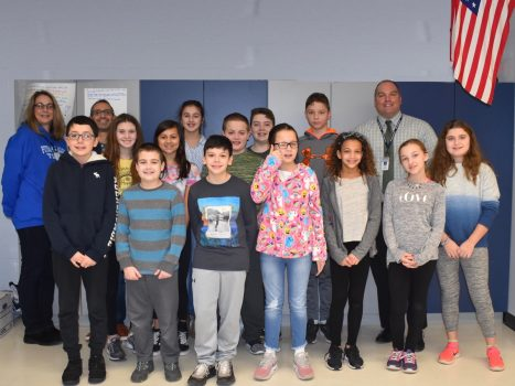 November 2018 Student of the Month Honorees
