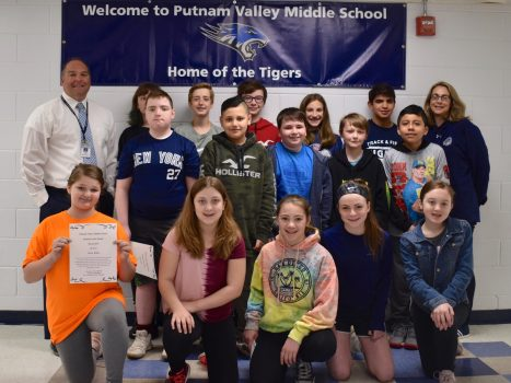 Congratulations to our Putnam Valley Middle School Student of the Month Honorees!!