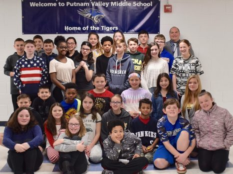 February, 2019 Student of the Month Honorees