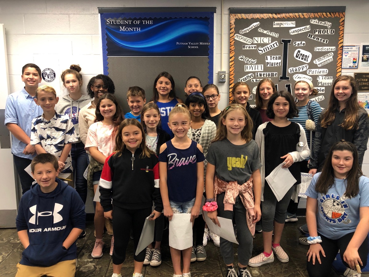 Student Council elections are happening at PVMS.  The election process included making posters to get the word out about a candidate's message, followed by speeches to the PVMS student community. Congratulations to all of the candidates!