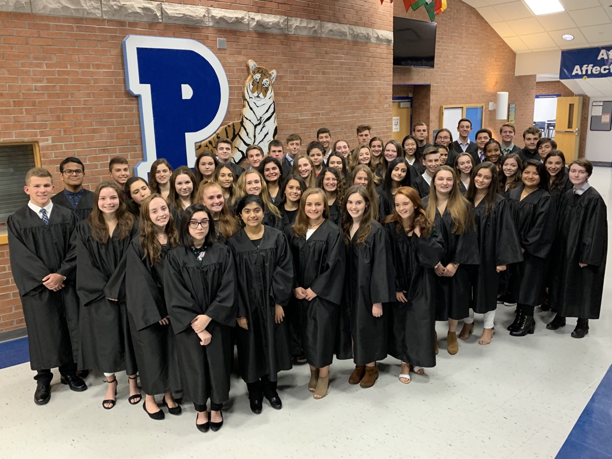 PVHS Mu Alpha Theta Honor Society Induction Ceremony