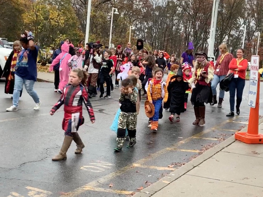 The 2019 PVES Halloween Parade