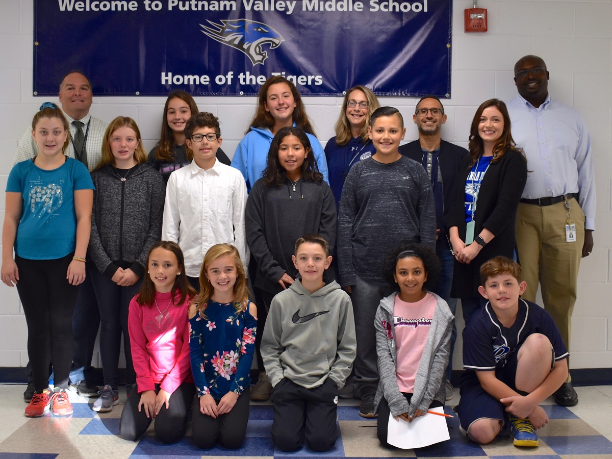 Congratulations to our Student of the Month honorees