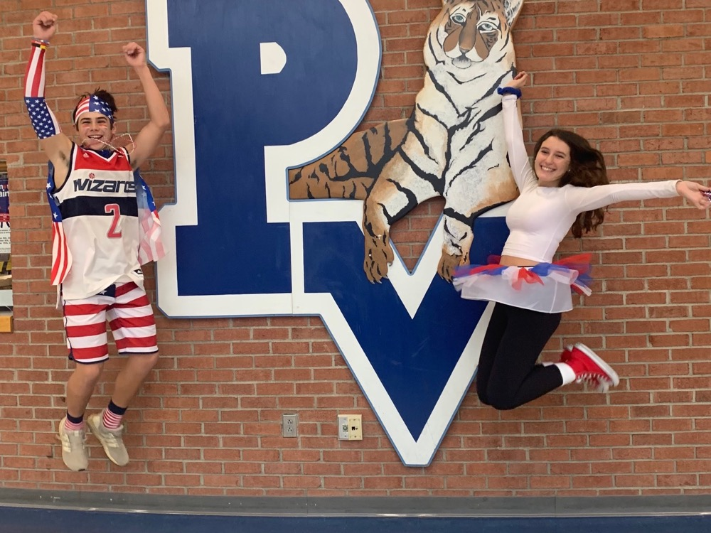 PVHS Spirit Week - America Day!