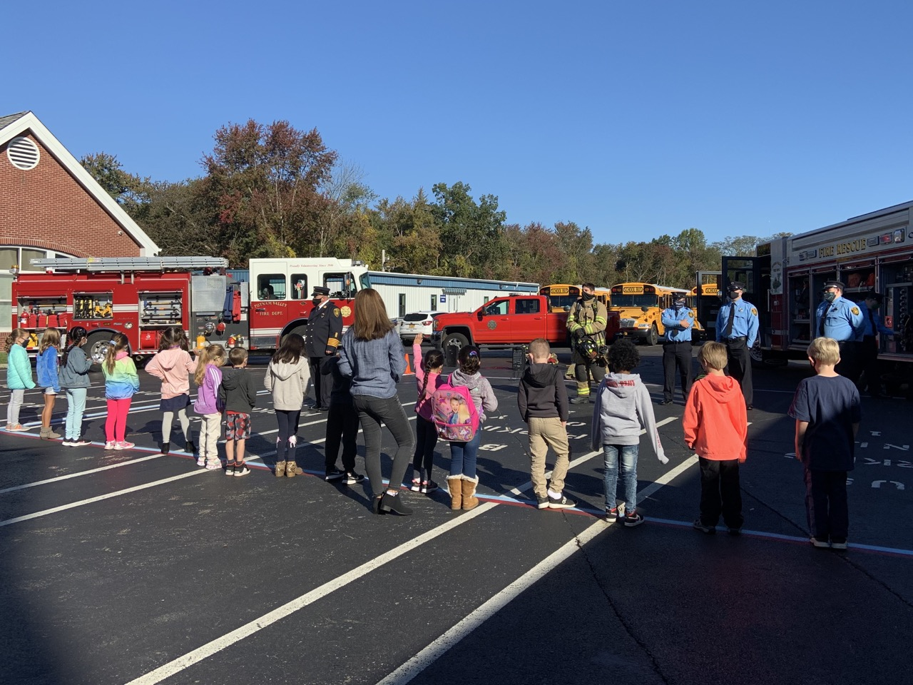 Fire Safety Lessons with the PVVFD