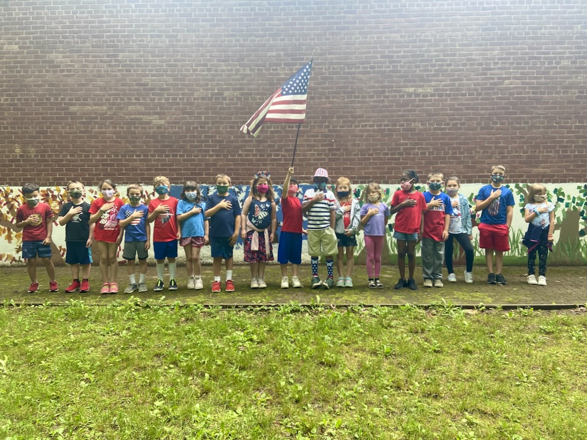 First graders - Flag Day