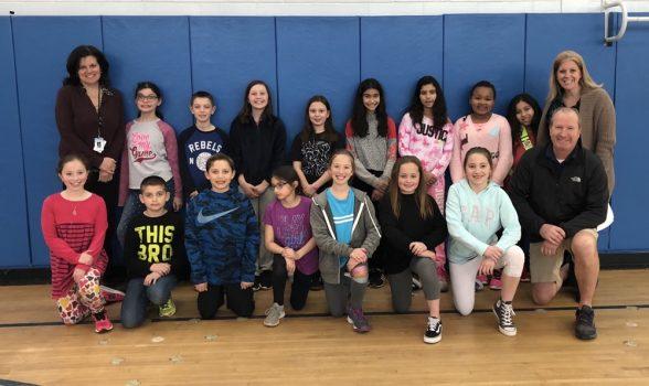 Southeastern Zone Physical Education Award Recipients Grade 4, PVES