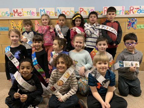 Kindergarten Alphabet Parade at PVES