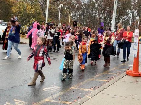 The 2019 PVES Halloween Parade